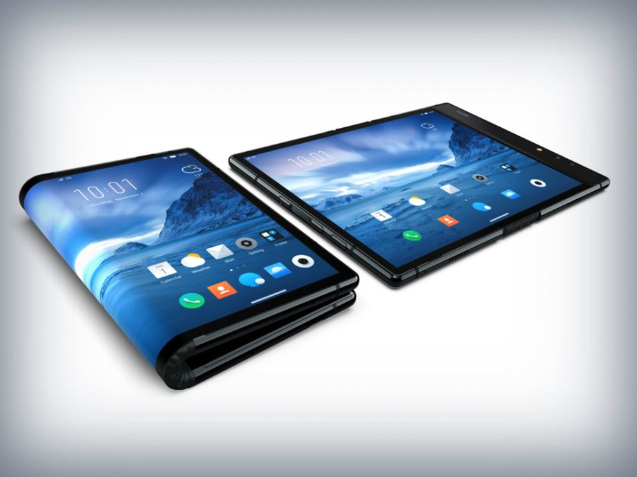 Arriva il primo smartphone pieghevole