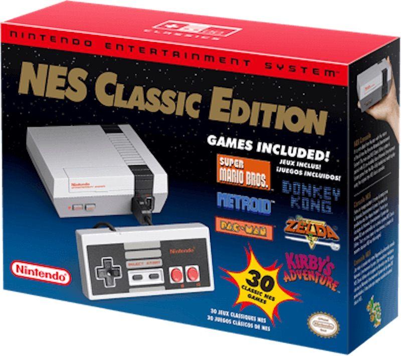 Dal 29 Giugno Tornera' in Vendita il NES Classic