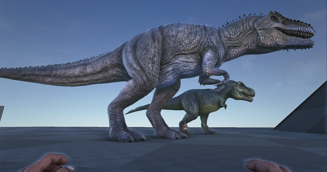 Come Tamare il Gigantosauro