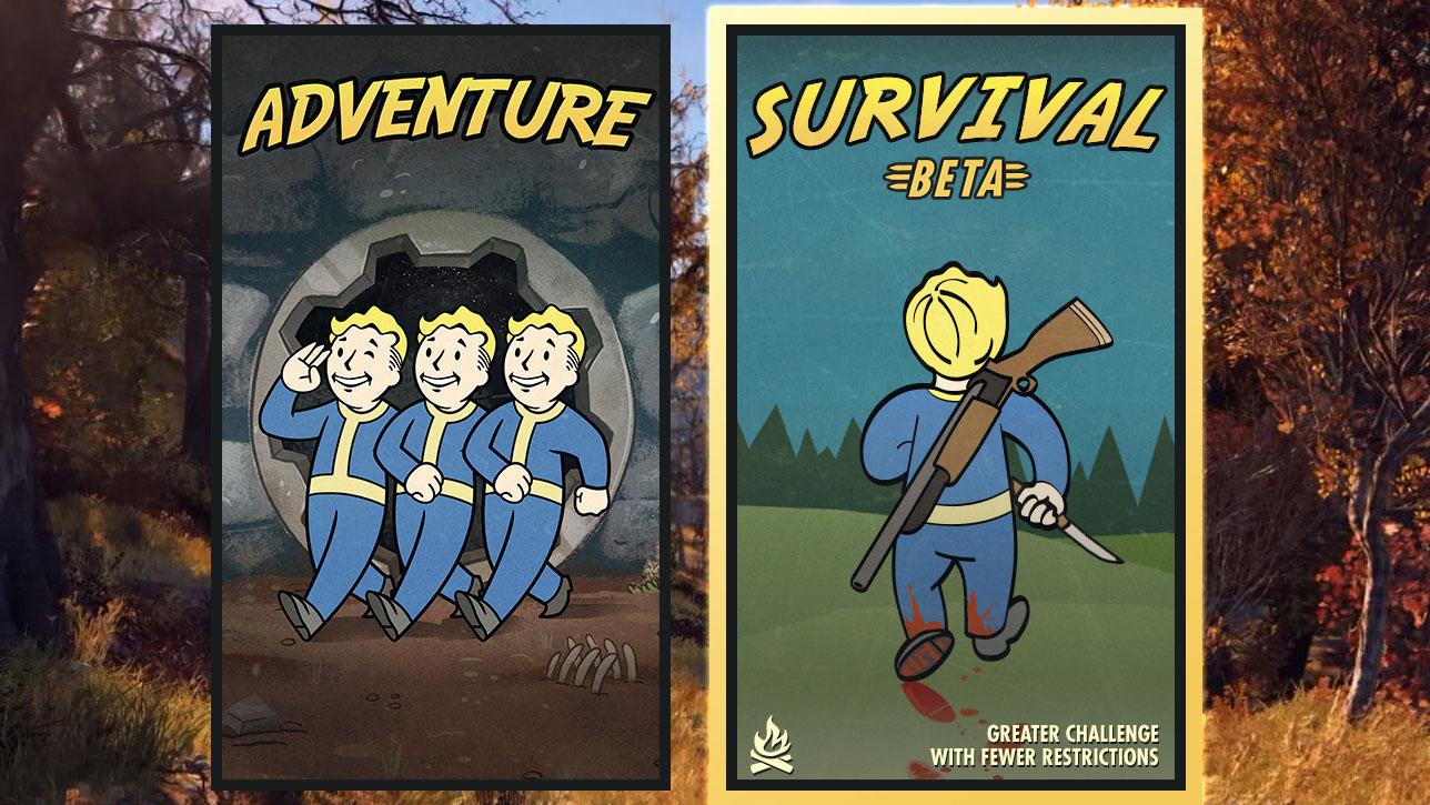 La Modalita' Sopravvivenza di Fallout 76 arrivera' la prossima settimana
