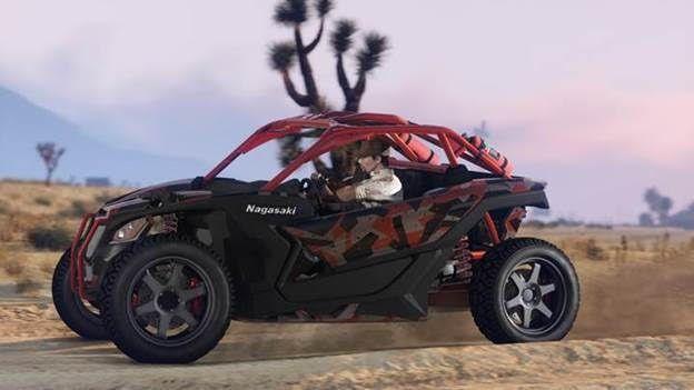 Arriva la Nagasaki Outlaw in GTA Online, il nuovo veicolo off-road