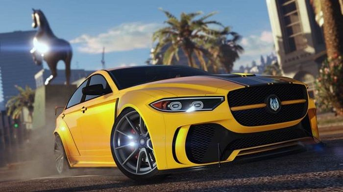 Potrete guidare la Ocelot Jugular Sports Car grazie all'ultimo aggiornamento di GTA Online