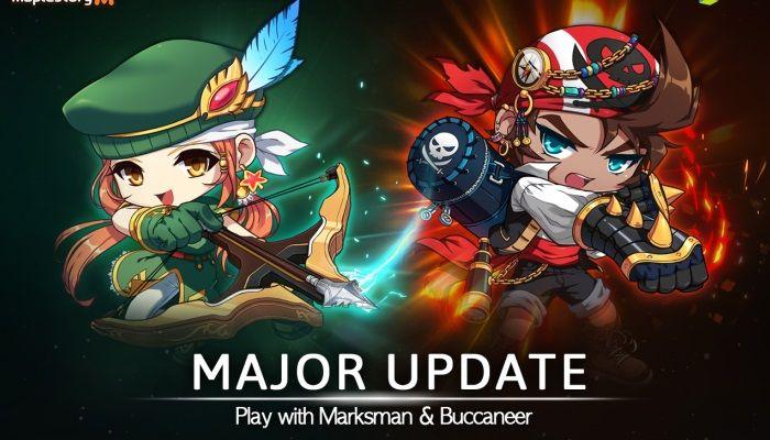 Due nuove Explorer Classes arrivano in MapleStory M