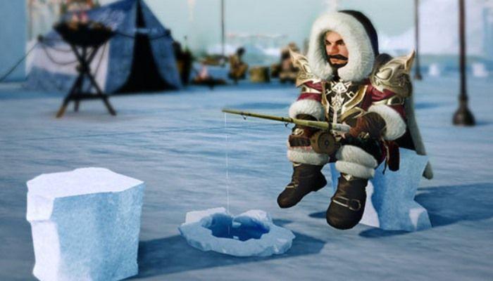 "Inizia il Festival ""Miroir Tundra Ice Fishing"""