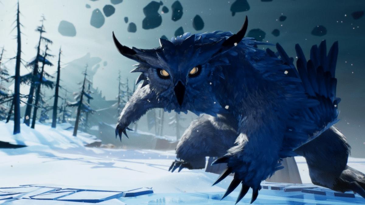 Torna il Winterhorn Skraev con l'ultima Patch di Dauntless