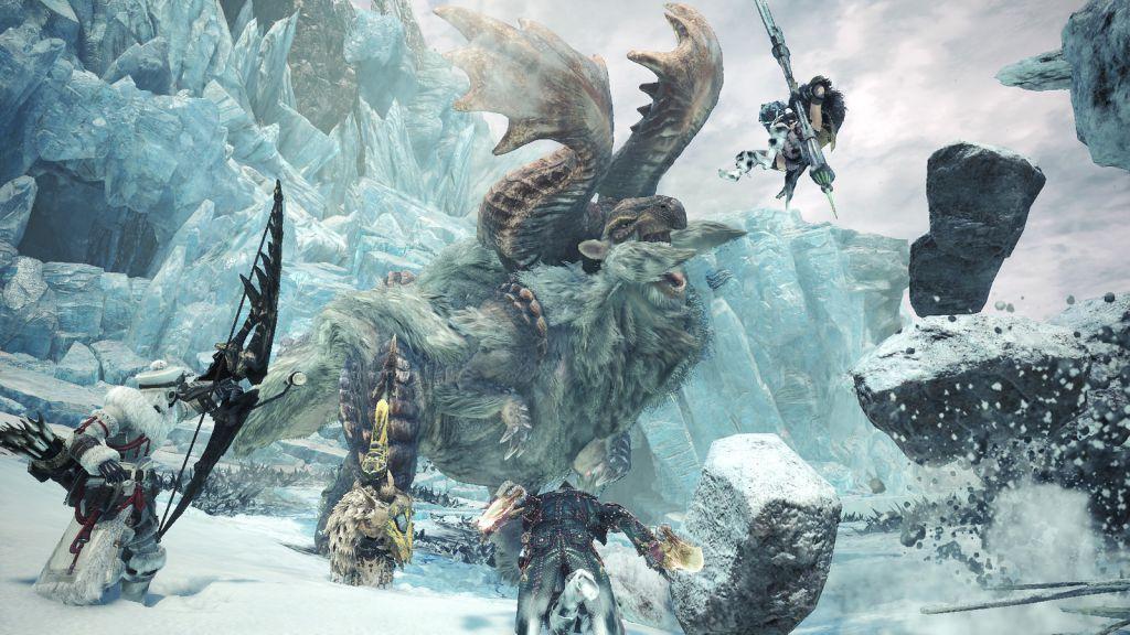 Iceborn concludera' la storia di Monster Hunter: World