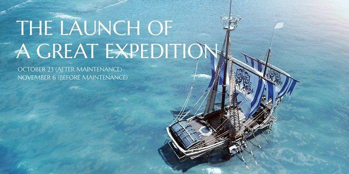 Arriva The Great Expedition su Black Desert Online fino al 6 Novembre