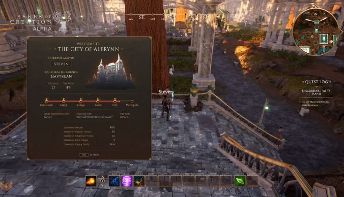Mostrato il nuovo Gameplay di Ashes of Creation nell' ultimo Live Stream