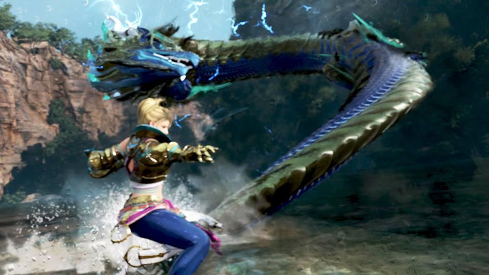 Awakening Del Mystic E' Un Drago Blu