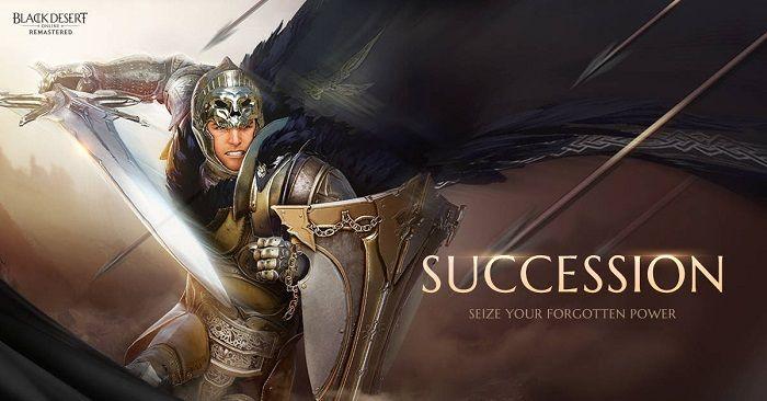 Arrivano le Succession Skills in Black Desert Online