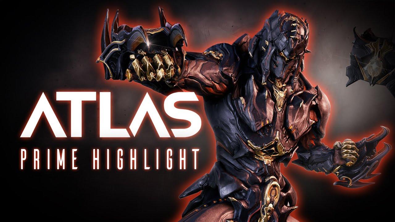 Atlas Prime in arrivo a breve in Warframe