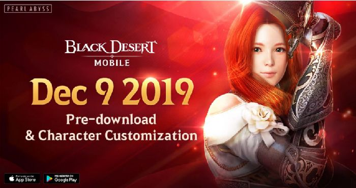 Il Pre-Download di Black Desert Mobile disponibile dal 9 Dicembre