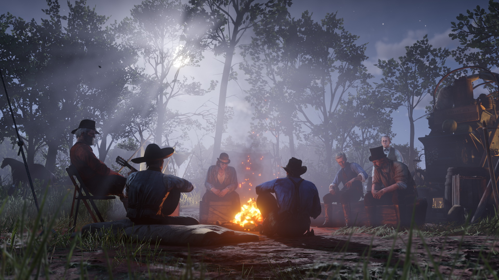 Un Glitch audio di Red Dead Redemption 2 potrebbe suggerire un DLC remake di Red Dead Redemption