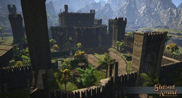 Mostrato in anteprima il Castello di Lord British in Shroud of Avatar