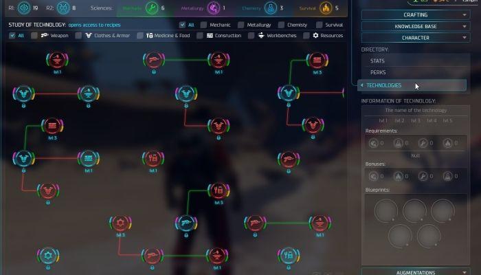 Forniti maggiori dettagli sull'evoluzione del personaggio di Population Zero