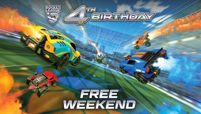 Parte il Weekend gratuito di Rocket League