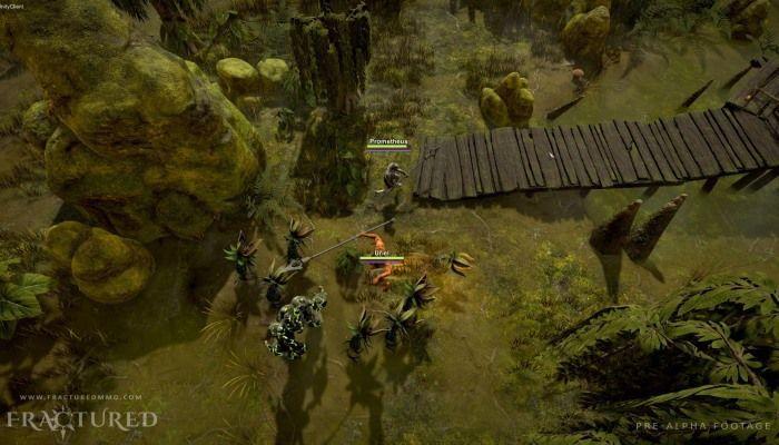 Alpha 1 - Test 2 del MMORPG Fractured  inizierà il 10 Luglio