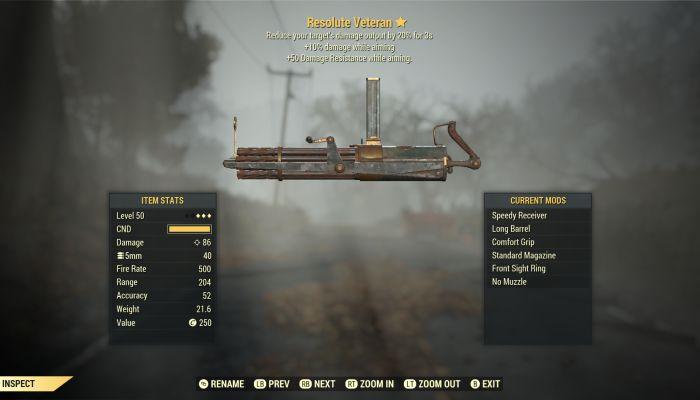 Nuove armi Leggendarie e molti cambiamenti in arrivo con la Patch 9 di Fallout 76