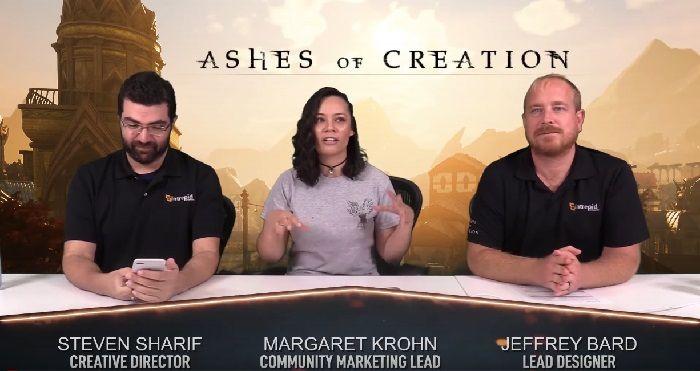 Ashes of Creation mostra il suo sistema di combattimento nell' ultimo livestream