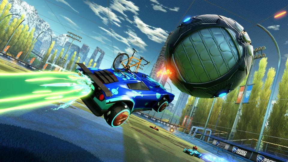 Rocket League sara' completamente gratuito su PS4 e Nintendo Switch