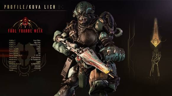 Grendel e il Kuva Lich arriveranno presto con Il Sangue Antico di Warframe