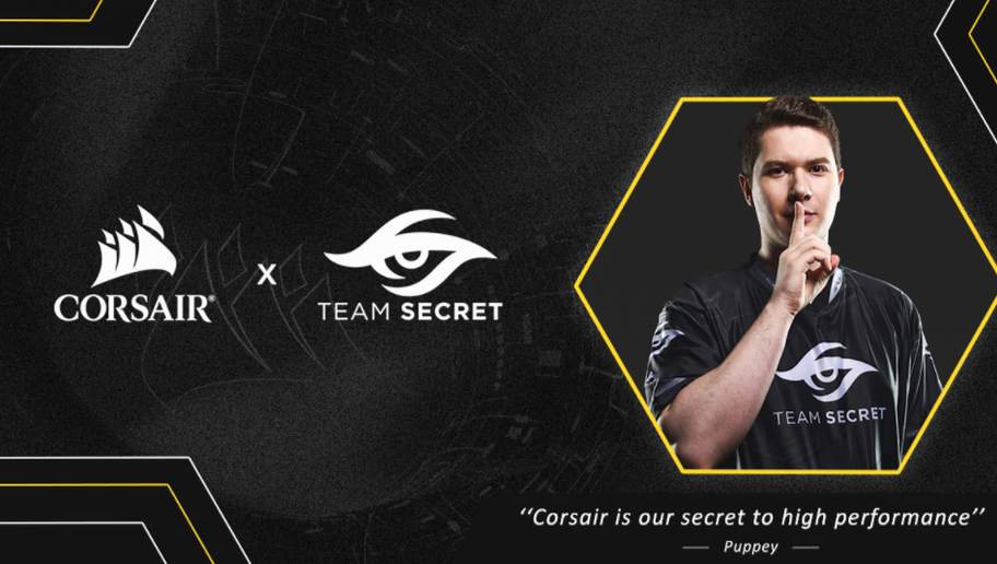 Corsair Annuncia la Partnership Con Team Secret
