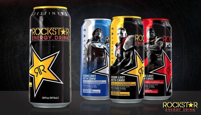 Energy Drink Rockstar & Pop-Tarts Per Vincere Item Su Destiny 2