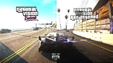 GTA 5 diventa Next Gen grazie alla sua nuova mod NaturalVision Evolved