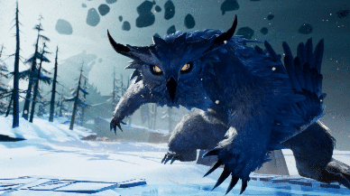 Torna il Winterhorn Skraev con l'ultima Patch di Dauntless