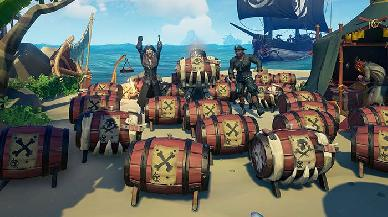 Arrivano i Black Powder Stashes con l'ultima Patch di Sea of Thieves