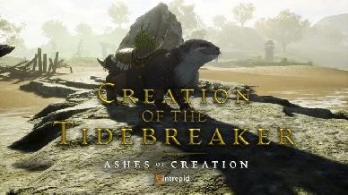 Il nuovo video di Ashes of Creation mostra il Tidebreaker