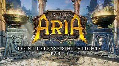 Legends of Aria introduce le Fazioni NPC, un mercato cittadino e tanto altro