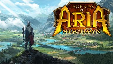 Legends of Aria New Dawn e' disponibile da adesso