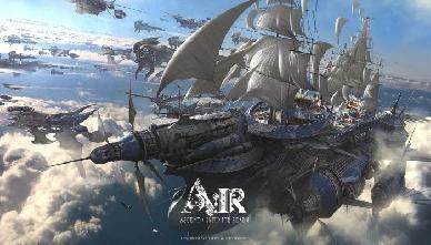 Mostrata la gigantesca Nave Volante Inventus e il combattimento navale