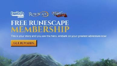 Grandi premi su Runescape e Old School RuneScape per i membri Twitch Prime