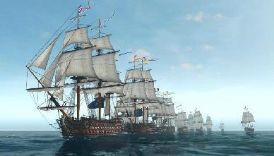 Commercio, Pirateria e Intensi Combattimenti in questo Sandbox Navale