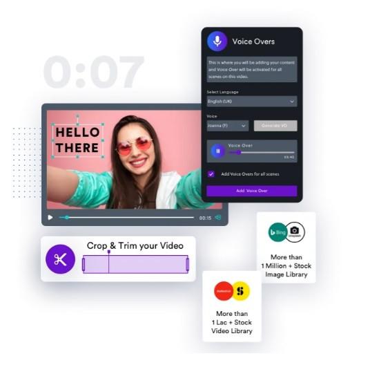 Invideo permette la creazione di video professionali in maniera semplice e veloce