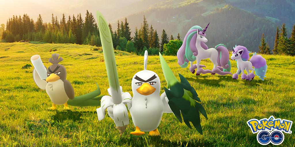 Pokemon Go aggiunge Galarian Ponyta e Sirfetch'd con The Crown Tundra