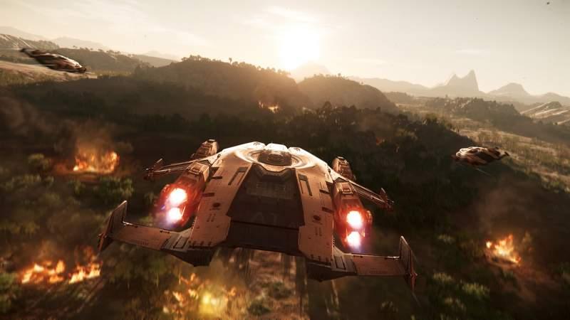 New Frontiers di Star Citizen aggiunge un nuovo pianeta, combattimento melee, il Law System e tanto altro