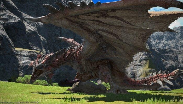 Parte la caccia a Rathalos, Monster Hunter incontra FFXIV
