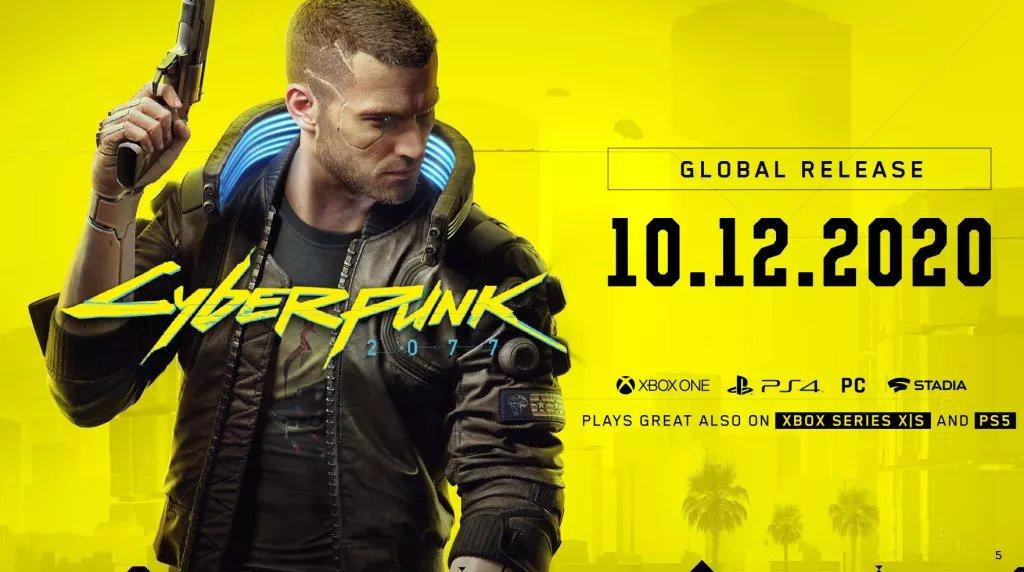 CD Projekt rassicura tutti, Cyberpunk 2077 uscira' senza dubbio il 10 Dicembre
