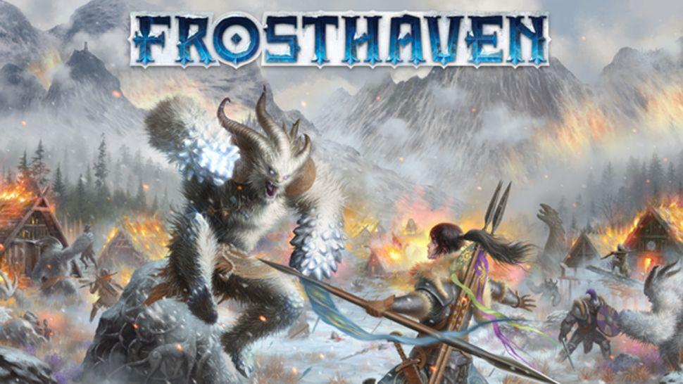 Con Frosthaven potrete costruire il vostro villaggio ed esplorare nuove terre