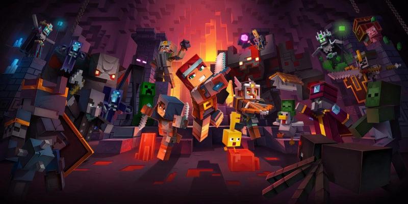 Abbiamo una data per il cross-play di Minecraft Dungeons
