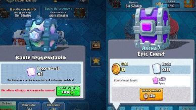 Come Trovare il Baule Leggendario \ Epico in Clash Royale